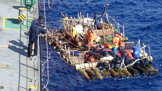 Les aventuriers du Kon-Tiki II contraints à l'abandon dans le Pacifique