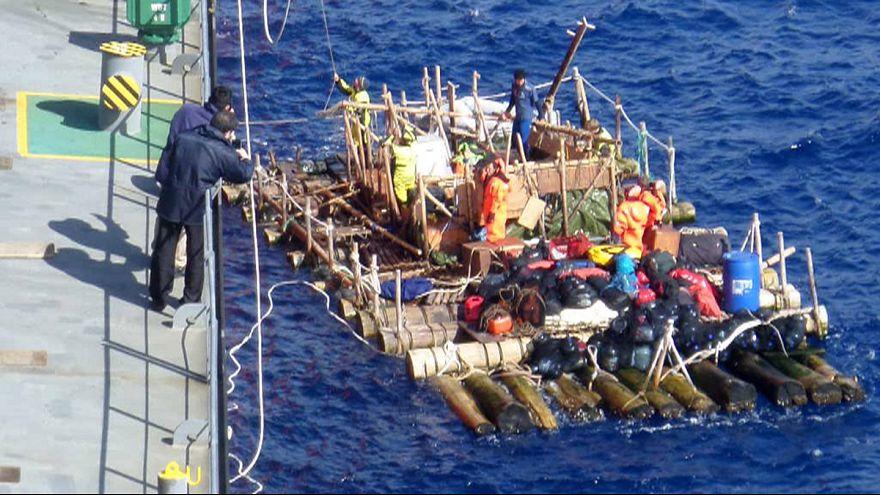 Kon-Tiki2-Expedition gerettet: Klimaforschern wird Klima zum Verhängnis