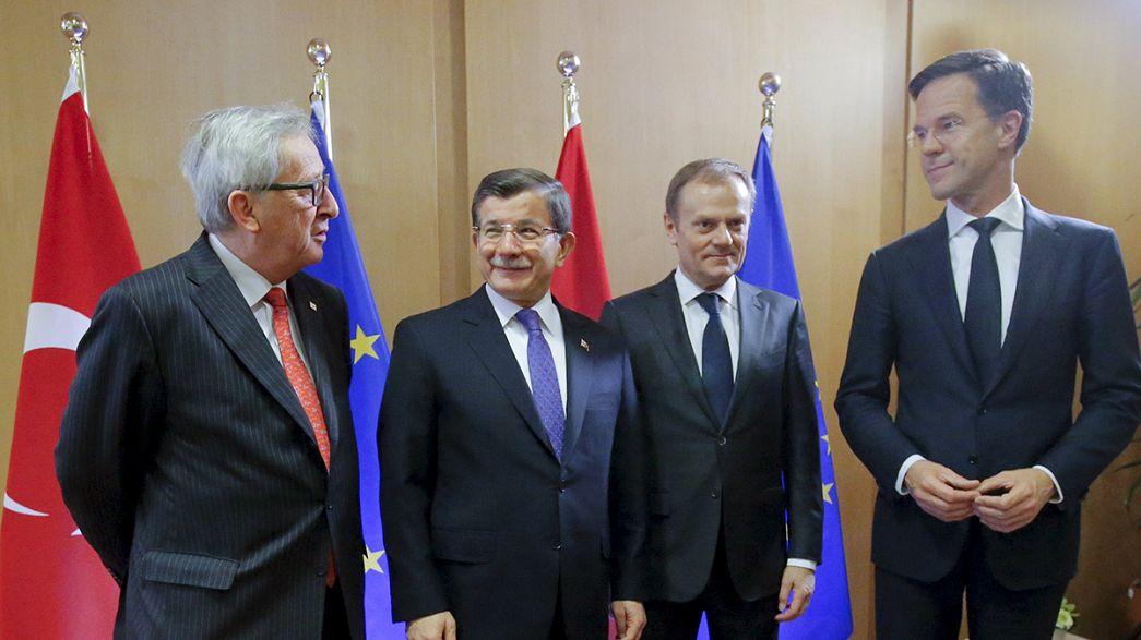 L'UE retrouve la Turquie pour négocier un nouveau plan migratoire