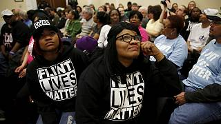 L'eau plombée de Flint, Michigan, en questions au Capitole