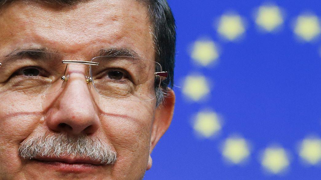 L'UE et la Turquie s'entendent pour limiter l'arrivée des réfugiés