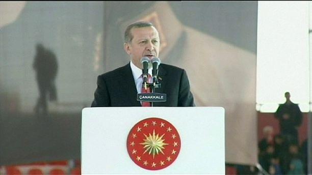 """Erdogan: """"Eine Bombe wie in Ankara kann auch in Brüssel explodieren"""""""