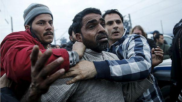В Греции скопились свыше 46 тысяч мигрантов