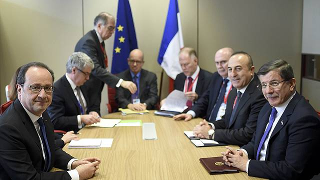اتفاق أوروبي تركي حول مسألة الهجرة