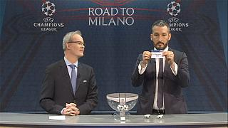 Champions League: ecco gli abbinamenti dei quarti di finale
