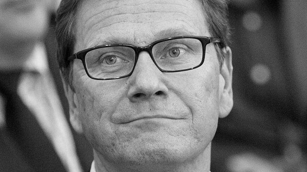 """""""Trauer ist groß"""": Reaktionen auf Tod von Guido Westerwelle"""