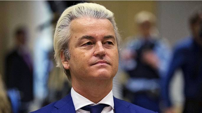 Dutch far-right leader Geert Wilders appears in court to answer charges of hate speech