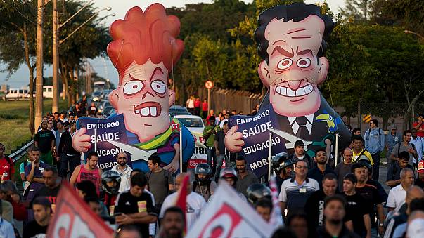 Brezilya'da yolsuzluk skandalı: Silva'nın hükümet genel sekreteri olarak atanması durduruldu
