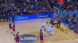دوري أبطال أوروبا لكرة السلة : برشلونة يهزم الريال