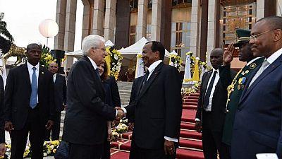 Cameroun : visite d'État du président italien