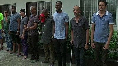 Nigeria : 4 Mexicains spécialistes des stupéfiants mis aux arrêts