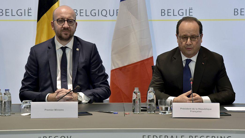 """L'extradition d'Abdeslam vers Paris attendue """"le plus rapidement possible"""" - Hollande"""