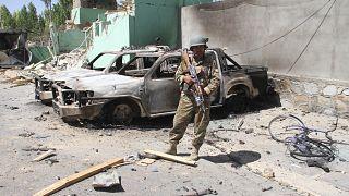 Image: Taliban conflicts Ghazni
