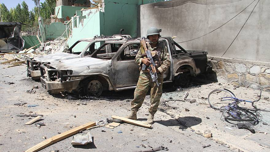 Image: Taliban conflicts Ghazni