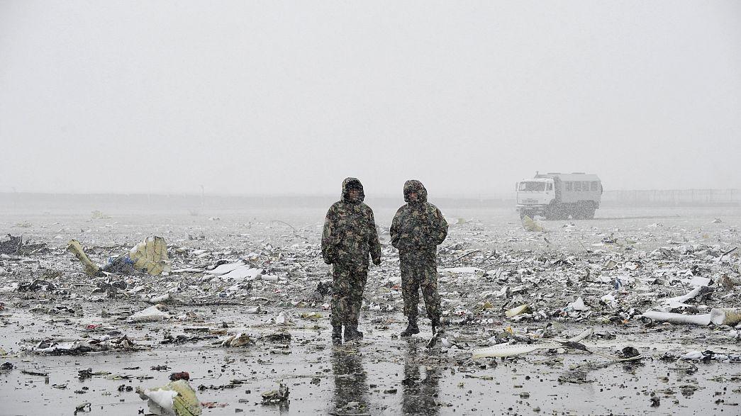 El avión que se estrelló en el sur de Rusia no estaba intentando aterrizar