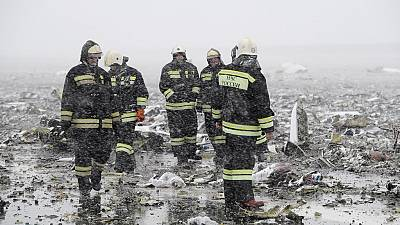 Flydubai jet crashes in southern Russia, 62 dead