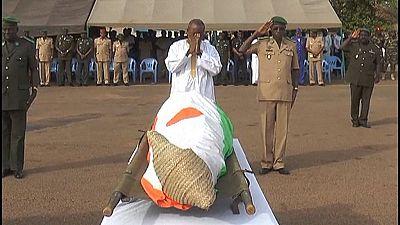 Niger : dernier hommage à trois gendarmes tués dans une attaque terroriste