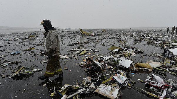 FlyDubai uçağının düşüş nedeni araştırılıyor