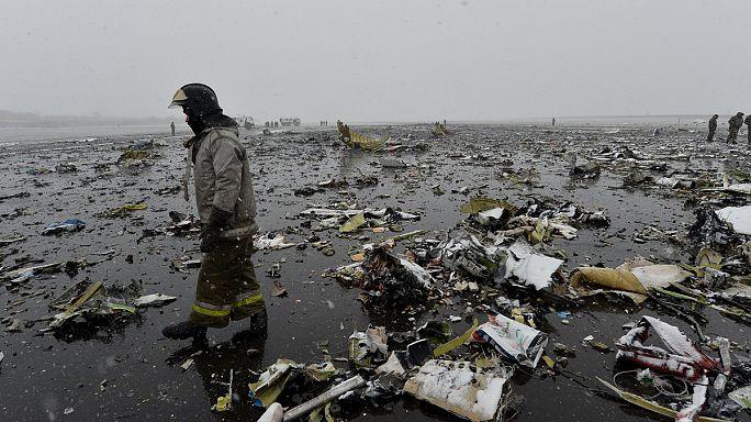 مقتل 62 شخصا في حادث تحطم طائرة ركاب جنوب روسيا
