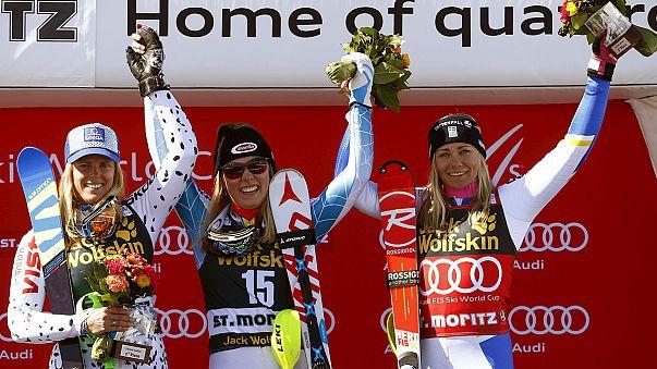 Ski-Star Shiffrin dominiert auch Slalom-Finale