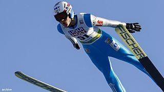 Прыжки на лыжах с трамплина: словенцы дома уступили австрийцам