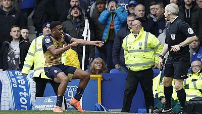 Nigeria's Iwobi scores as Arsenal win at Everton