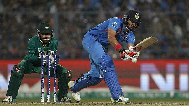 Cricket: Gastgeber Indien bezwingt Pakistan