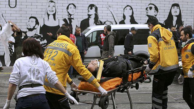 İstanbul'da kanlı eylem: 5 ölü, 39 yaralı