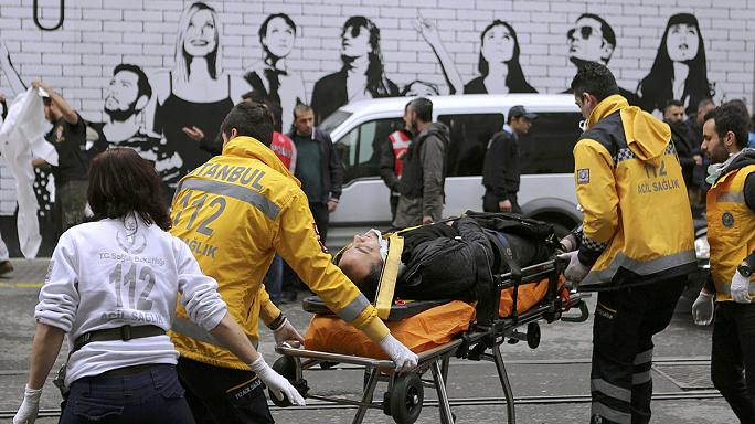 Clima teso a Istanbul dopo l'attentato in centro che ha fatto cinque morti