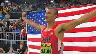Atletica, Mondiali Indoor: Gianmarco Tamberi d'oro nel salto in alto
