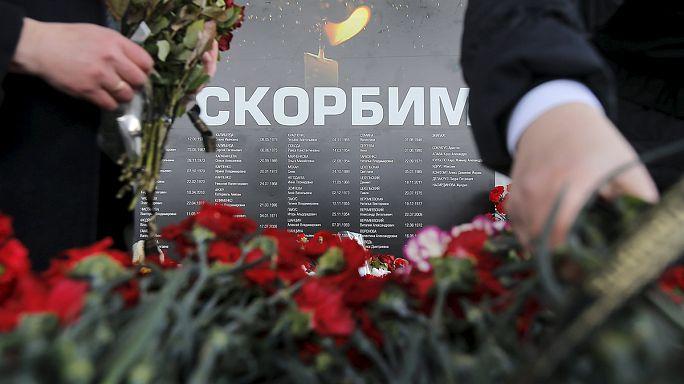 Rússia: Luto pelas vítimas do acidente de avião em Rostov-on-Don