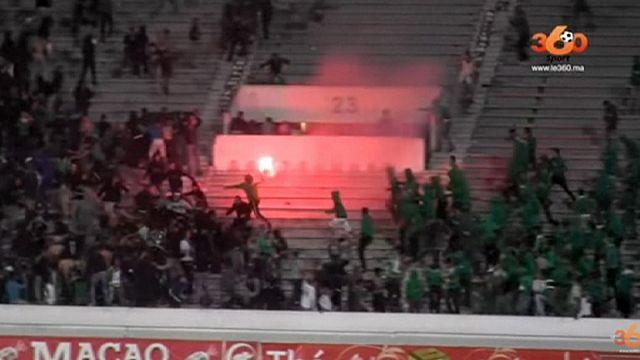 مقتل شخصين و جرح العشرات إثر إشتباكات عنيفة بين مشجعي نادي الرجاء البيضاوي