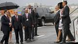 Obama arrives in Cuba for historic three-day trip