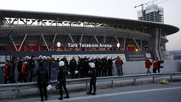 Ameaça terrorista adia dérbi de Istambul entre Galatasaray e Fenerbahce