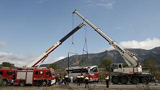 Espanha: Motorista do autocarro acidentado enfrenta justiça