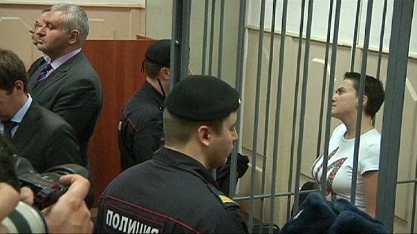 Rusya'da tutuklu Ukraynalı kadın pilot için karar günü