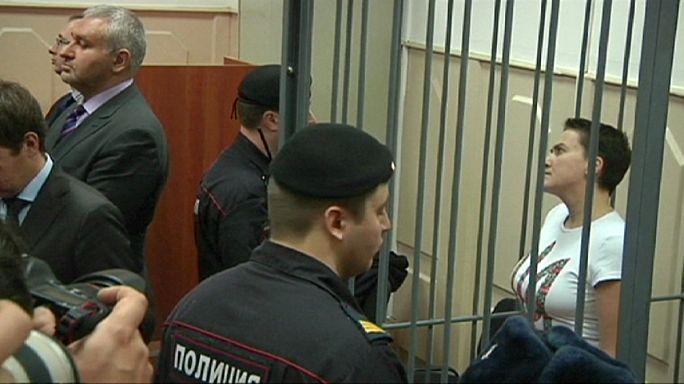 القضاء الروسي يُعلن اليوم الحُكم على الطيارة الأوكرانية سافْتشينْكُو