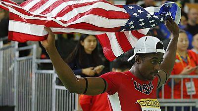 El atletismo estadounidense domina en el Mundial de pista cubierta