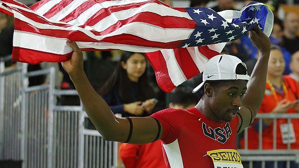 Jamaica wins hurdles gold at Indoor Athletics championships