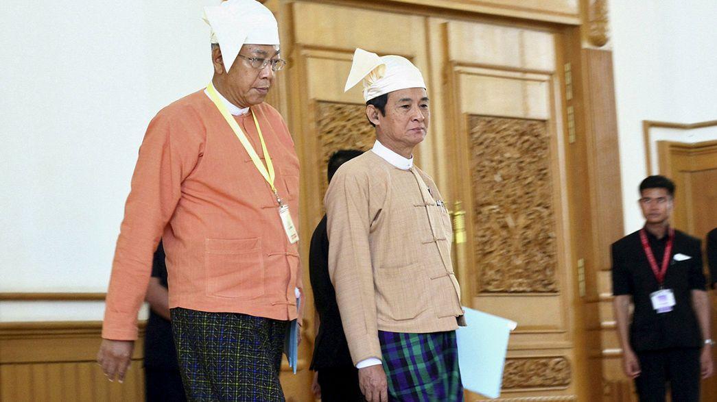 Birmanie : le nouveau président élu annonce une diminution du nombre de ministères