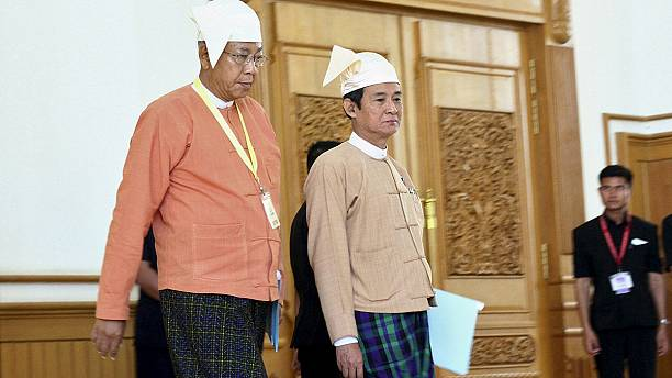 Myanmar's president-elect gives first speech to parliament