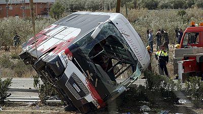 Busunglück in Spanien: Alle 13 Tote sind Austausch-Studentinnen