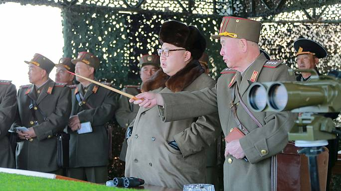 North Korea fires five 'projectiles' into the sea