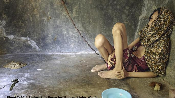 Shackled and abused: the plight of Indonesia's mentally ill
