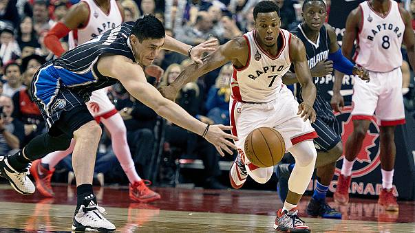 NBA : Toronto domine Orlando