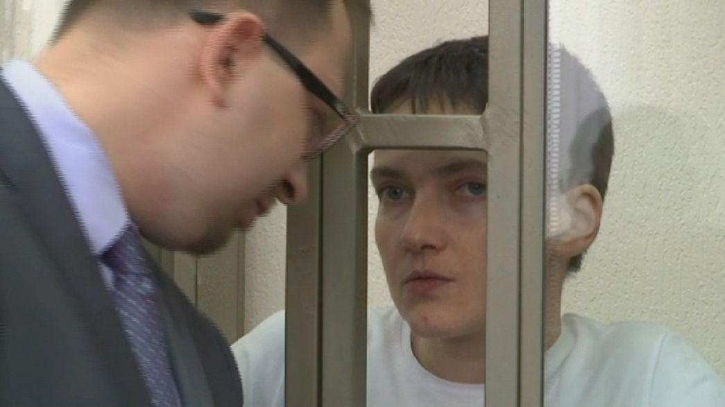 Defesa Savchenko: veredito ainda não é conhecido