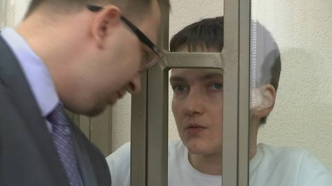 Kedden várható ítélet az ukrán pilótanő elleni orosz perben