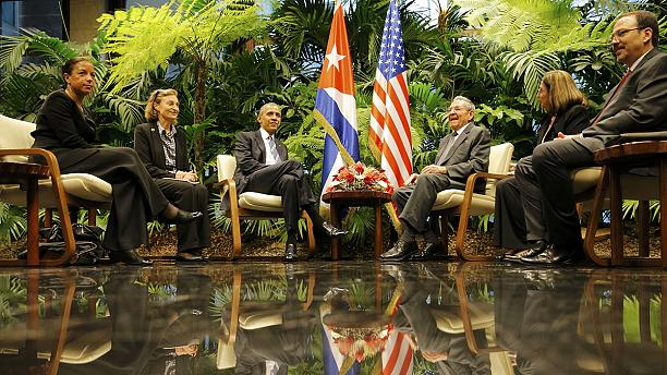 President Barack Obama breaks 88 year gap with visit to Cuba