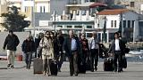 وصول بعثة مراقبين أتراك الى اليونان للتنسيق بخصوص إتفاق اللاجئين