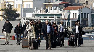 Lleganobservadores turcos a las islas griegas para supervisar el acuerdo UE-Ankara